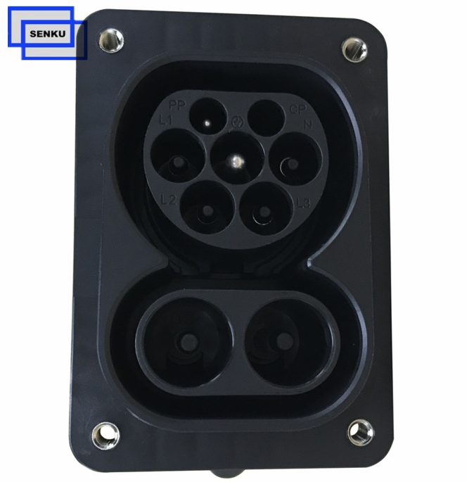 200A Combo 2 Socket for Vehicle Side