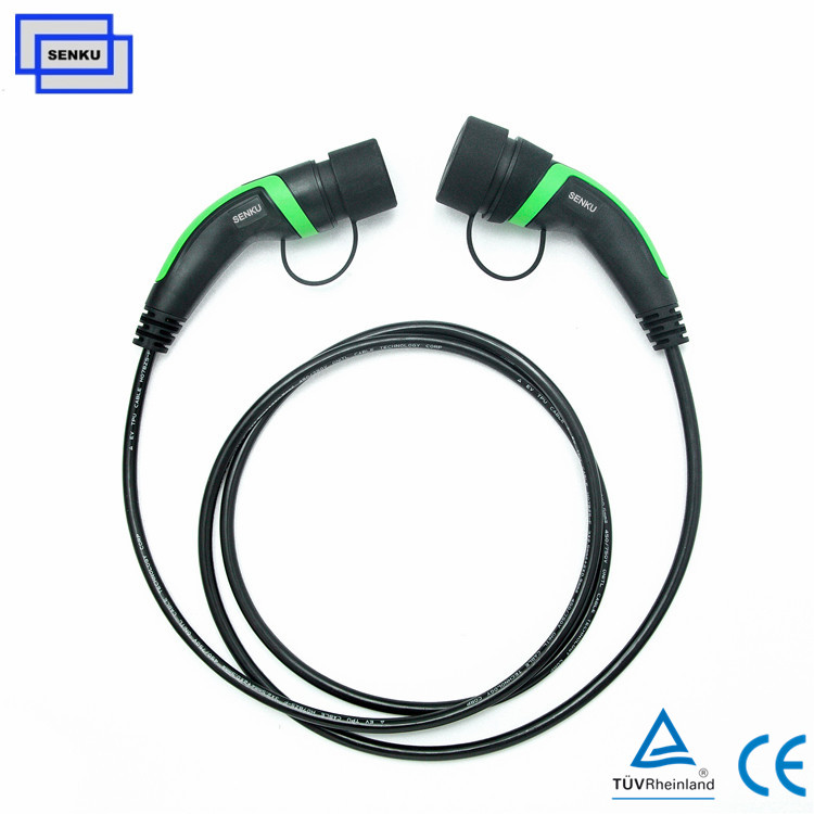 1 phase 32A Type 2 to  Type 2 Mode3 Cable Charger